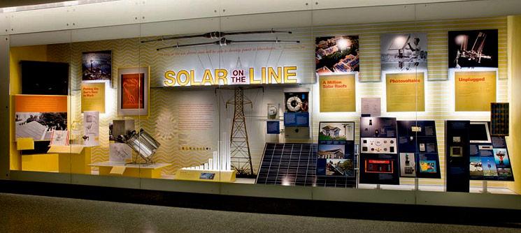 Solar on the Line