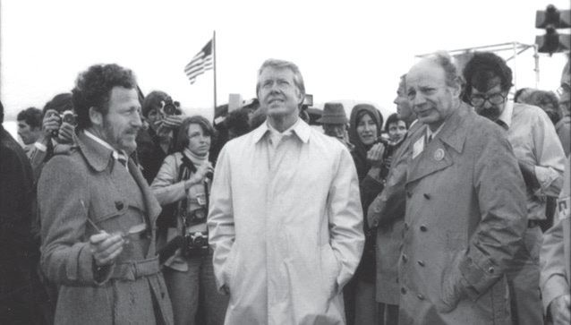 Dr. Frank Kreith, President Jimmy Carter, and Solar Energy Research Institute Director Dr. Paul Rappaport