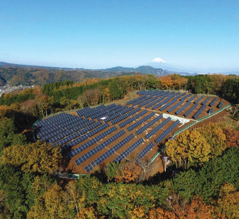 Solar Today Magazine Photo - Distributed Solar Plant in Japan - Mark Memer