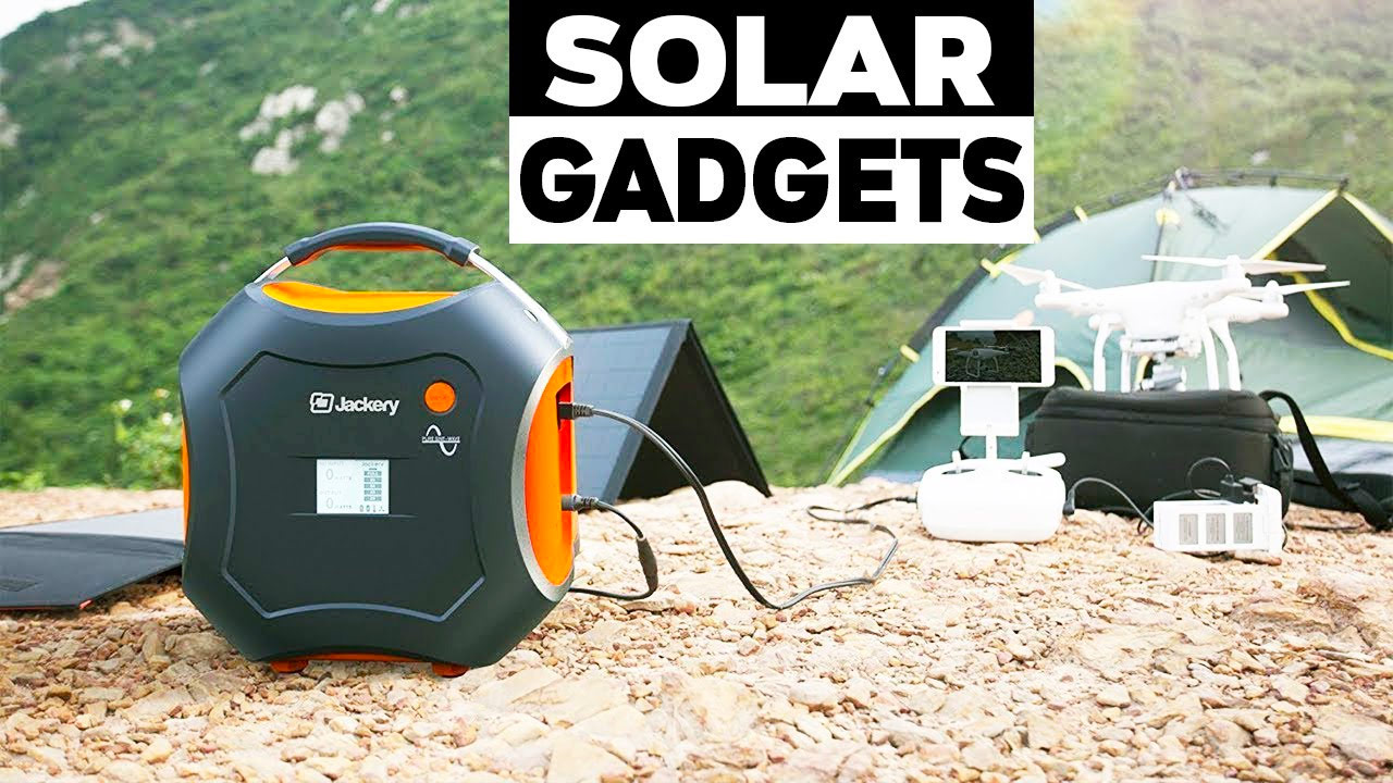 10 Awesome Solar-Powered Gadgets for Your Home