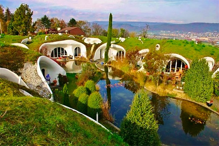 An Earth Sheltered Solar Home