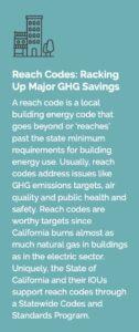 Reach codes information